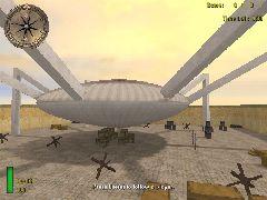 DM-8 Play Alian Air Ship
